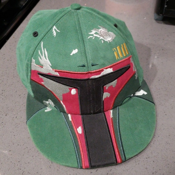 sports shoes b9496 2ec77 Boba Fett flex fitted hat. M 5bac591e8ad2f94a4dade2a2